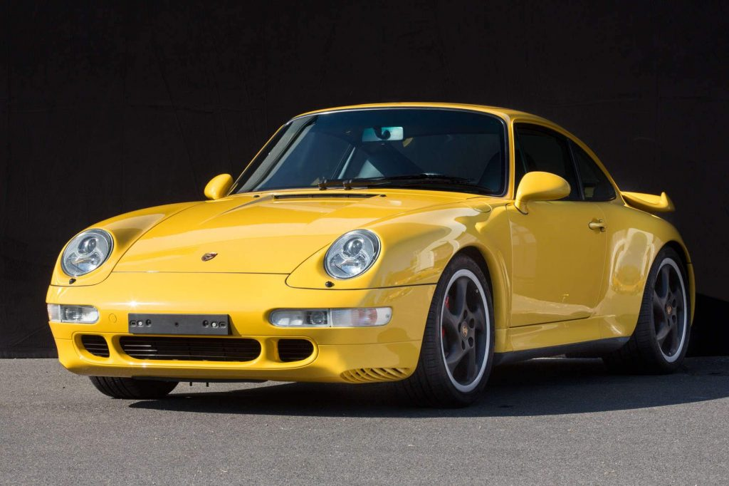 1997 Porsche 993 turbo Speed Yellow